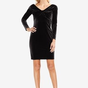 NWT Vince Camuto Estate Jewel Rich Black Dress PXS